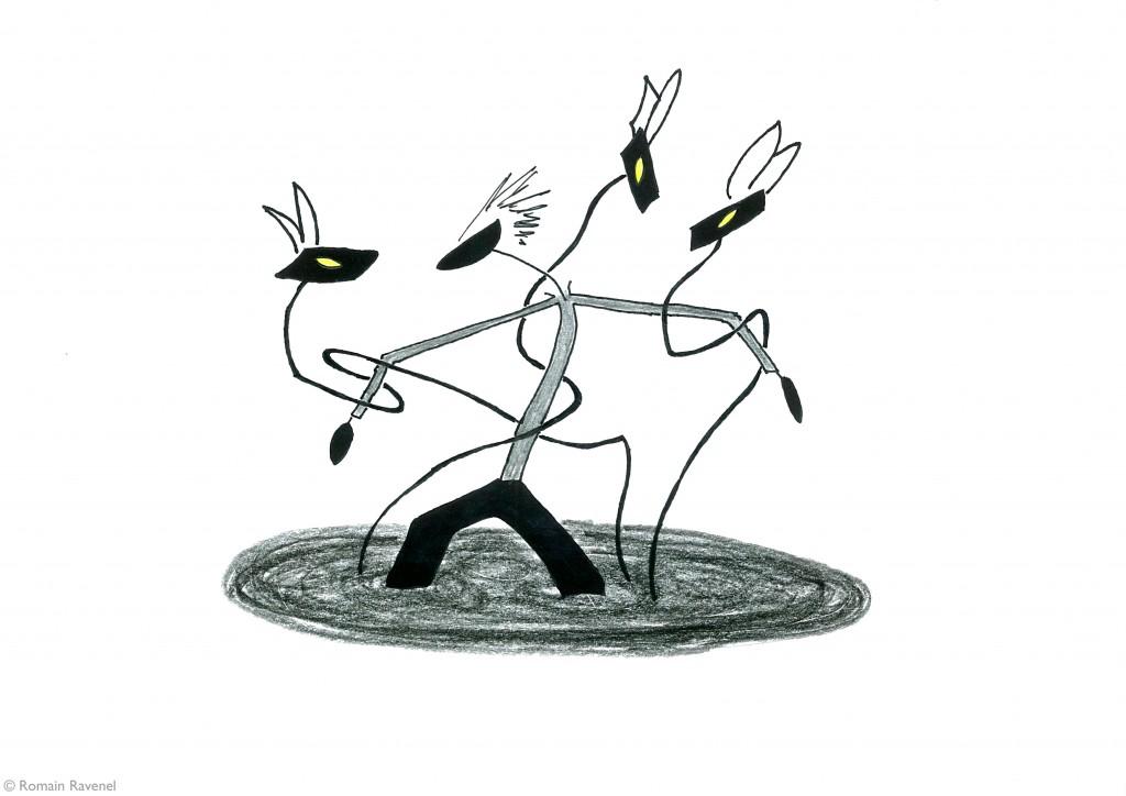 Les Rêveries, James, les écarts, illustration, Romain Ravenel, James & Cie, James & Cie - Les écarts,
