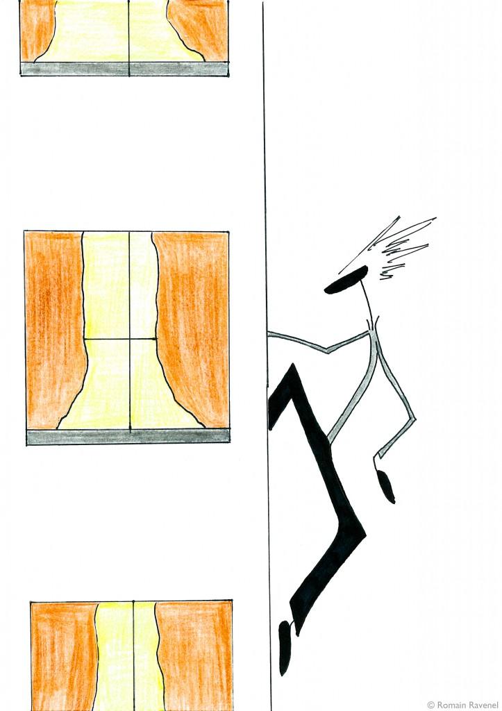 Immeuble n°1, James, James & Cie, Les écarts, James & Cie - Les écarts, Romain Ravenel, illustration,