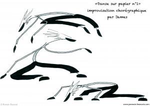 James danse sur le papier, James, Romain Ravenel, James & Cie, James & Cie - Les écarts, André Nitschke,