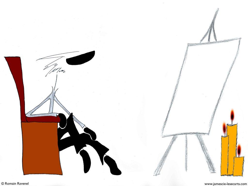 Soucieuse image, James, les écarts de James, les écarts, Romain Ravenel, personnage, personnage dessiné, illustration, graphisme, dessin, james et cie, james et compagnie, james & cie, james et cie les écarts, james et compagnie les écarts, james & cie les écarts, écriture, récit, poésie, texte poétique, poésie visuelle, dialogue,