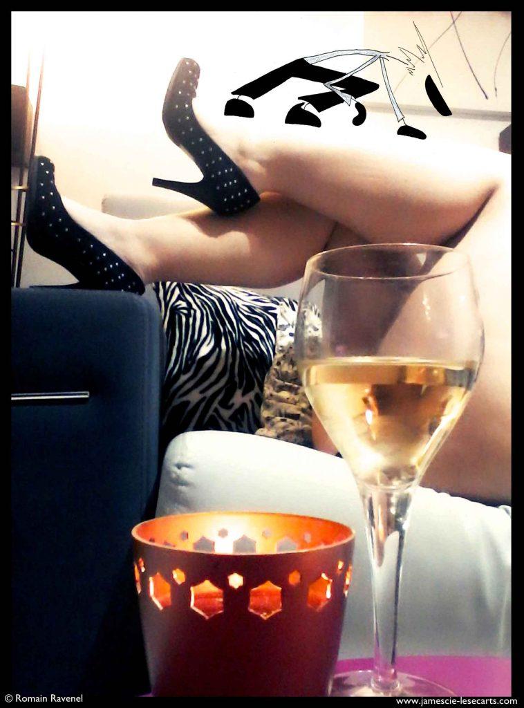 """""""Appar-Être"""" : les charmes écrits, charme, photo, photographie, Jamesn Les écarts, les écarts de james, james et cie, james et compagnie, james & cie, james et cie les écarts, james et compagnie les écarts, james & cie les écarts, poésie, récit, personnage, personnage dessiné, Romain Ravenel, Appar-être, érotisme, sensualité, femme, séduction, collaboration artistique, amour, sentiment, lingerie, jambes, corps de femme,"""