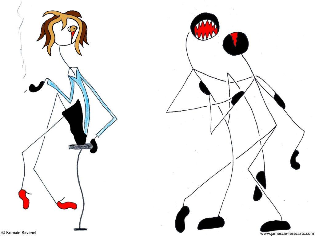 Résonne l'étreinte, Lily, les écart, les écarts de Lily, james et cie, james & cie, james et compagnie, james et compagnie les écarts, james et cie les écarts, james & cie les écarts, illustration, personnage, personnage dessiné, dessin, poésie, récit, texte, passion,