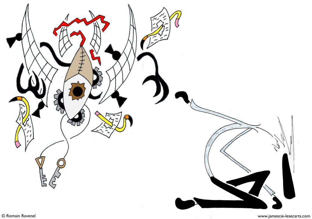 James, dessin, personnage, personnage dessiné, James et cie, james & cie, james et compagnie, les écarts, james et cie les écarts, james et compagnie les écarts, james & cie les écarts, écriture, Romain Ravenel, poésie, récit, histoire, illustration,