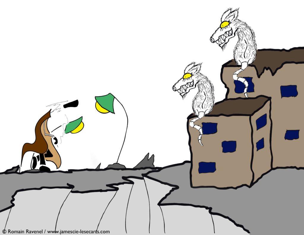 James et le monde des rats #1, James, Romain Ravenel, écriture, récit, poésie, les écarts, les écarts de james, illustration, personnage, personnage dessiné, james et cie, james & cie, james et compagnie, james et cie les écarts, james et compagnie les écarts, james & cie les écarts, auteur, illustrateur,