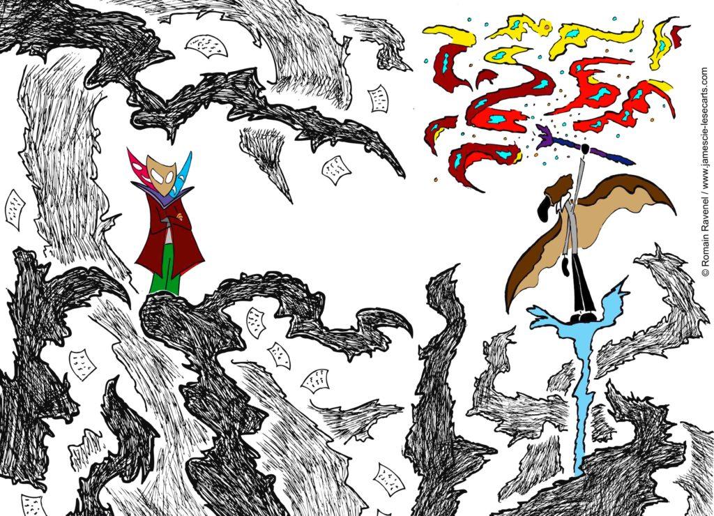 James à travers l'hiver #6, James, les écarts, james et cie, james et compagnie, james & cie, james et compagnie les écarts, james et cie les écarts, james & cie les écarts, dessin, illustration, personnage dessiné, poésie, écriture, récit, auteur, Romain Ravenel,